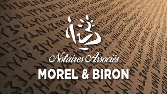 Morel biron notaire figeac assier lot immobilier logo marianne office